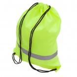 Plecak promocyjny z taśmą odblaskową, żółty A08696