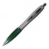 Długopis San Jose, zielony/srebrny